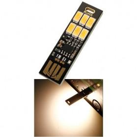 Lampu Belajar / Lampu USB - Lampu LED Mini USB 1W 50LM 3000K Warm White - 151104 - Black