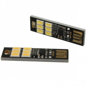 Lampu LED Mini USB 1W 50LM 3000K Warm White - 151104 - Black - 3