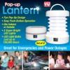 Lampu Outdoor / Lampu Sorot - Pop-Up Lantern LED Light 4PCS - White