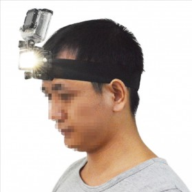 Lightdow Lampu LED Waterproof 30M untuk Gopro / Xiaomi Yi 4K - Black - 2