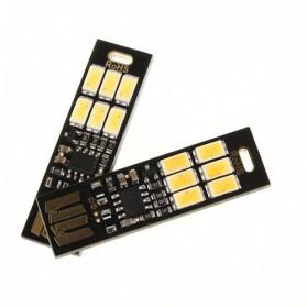 Lampu LED Mini USB 1W 50LM 6000K Cool White - Black - 2