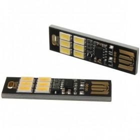 Lampu LED Mini USB 1W 50LM 6000K Cool White - Black - 3
