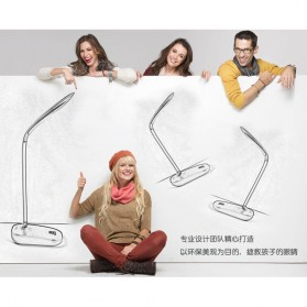 Rechargeable LED Desk Light - JP6601 / Lampu Meja Belajar - White - 4