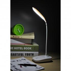 Rechargeable LED Desk Light - JP6601 / Lampu Meja Belajar - White - 5