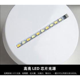 Lampu 3D LED Transparan Desain Eiffel Tower - G5711A - White - 8