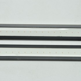 DIY Lampu DRLs LED Strip Warna Biru Waterproof DC12V 17cm 2 PCS - COB-17 - Blue - 2