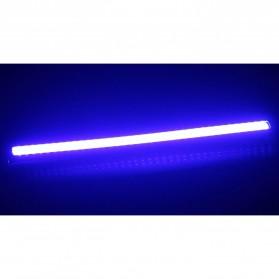 DIY Lampu DRLs LED Strip Warna Biru Waterproof DC12V 17cm 2 PCS - COB-17 - Blue - 8