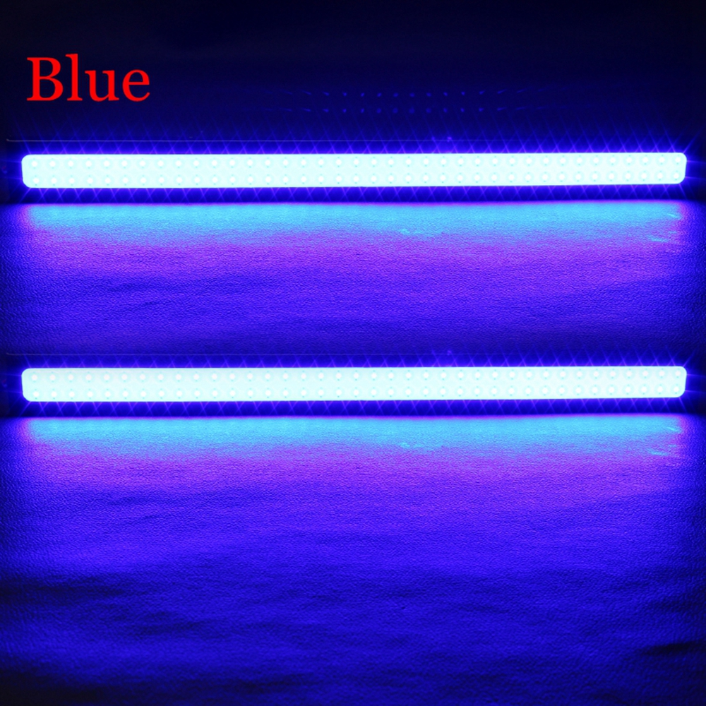 DIY Lampu DRLs LED Strip Warna Biru Waterproof DC12V 17cm 2 PCS COB 17 Blue JakartaNotebook