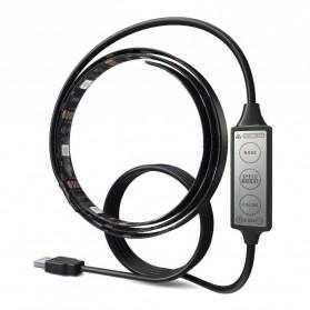 LED Strip RGB Waterproof 5050 90cm with Controller USB 5V - L5 - Black - 6