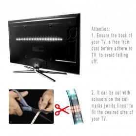 LED Strip RGB Waterproof 5050 90cm with Controller USB 5V - L5 - Black - 7