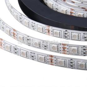 Led Strip Flexible Light Waterproof 5050 RGB 5M with 44 Key Remote Control - White - 3