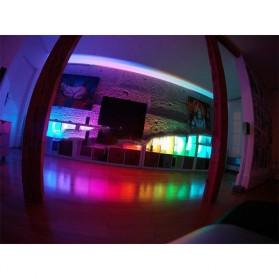 Led Strip Flexible Light Waterproof 5050 RGB 5M with 44 Key Remote Control - White - 5