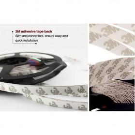 Led Strip Flexible Light Waterproof 5050 RGB 5M with 44 Key Remote Control - White - 6