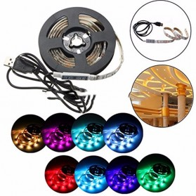 MALITAI Mood Light Led Strip 5050 RGB 2M with USB Controller - SMD2835 - White