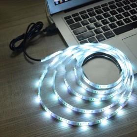 MALITAI Mood Light Led Strip 5050 RGB 2M with USB Controller - SMD2835 - White - 6