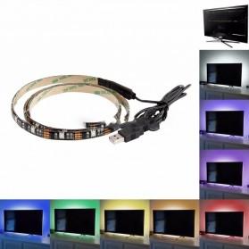 MALITAI Mood Light Led Strip 5050 RGB 2M with USB Controller - SMD2835 - White - 7