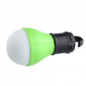 Tent Lamp Lampu Bohlam Gantung LED Portable 5188 - Green