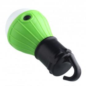 Tent Lamp Lampu Bohlam Gantung LED Portable 5188 - Green - 2