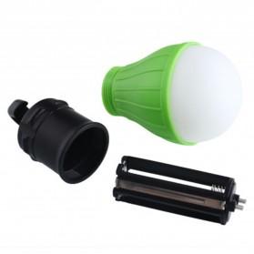 Tent Lamp Lampu Bohlam Gantung LED Portable 5188 - Green - 3