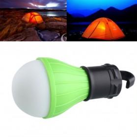 Tent Lamp Lampu Bohlam Gantung LED Portable 5188 - Green - 4