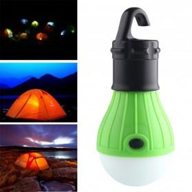 Tent Lamp Lampu Bohlam Gantung LED Portable 5188 - Green - 5