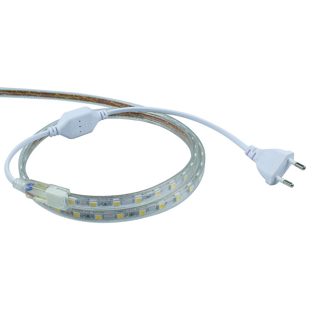 led strip putih smd 3014 with controller eu plug 220v 10m white. Black Bedroom Furniture Sets. Home Design Ideas