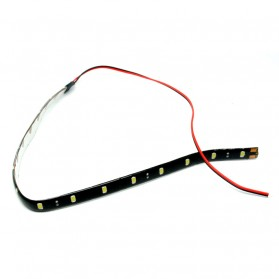 LED Strip Lampu Depan Mobil Waterproof 5W 15SMD 30CM - White