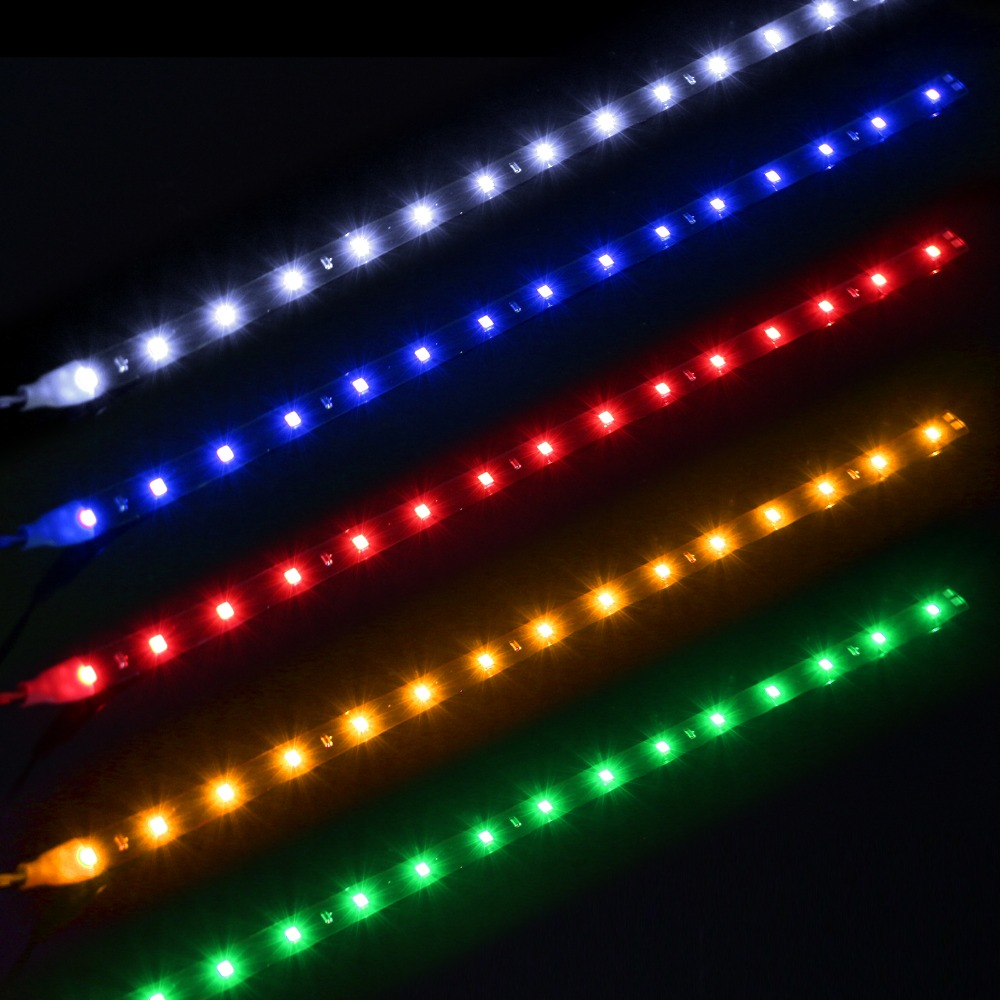 LED Strip Lampu Depan Mobil Waterproof 5W 15SMD 30CM ...