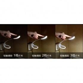 Centechia Lampu LED USB Flexible 3 Light Level - T1A - White - 5