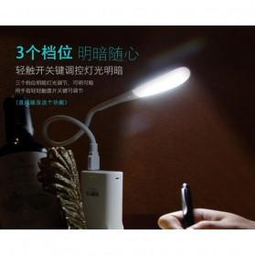 Centechia Lampu LED USB Flexible 3 Light Level - T1A - White - 8
