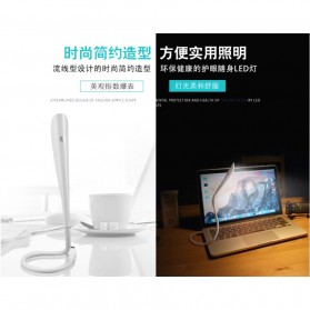 Centechia Lampu LED USB Flexible 3 Light Level - T1A - White - 9