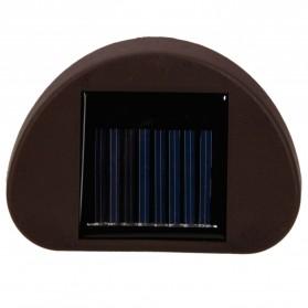 Lampu Solar Taman LED Solar Lamp Outdoor Garden White - HBT-1501 - Black - 3