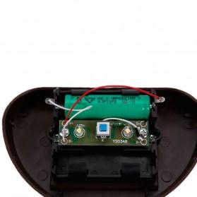 Lampu Solar Taman LED Solar Lamp Outdoor Garden White - HBT-1501 - Black - 5