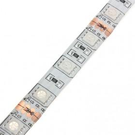 Lampu Led Strip 5050 RGB 16 Colors 2M with Remote Control - Multi-Color - 3