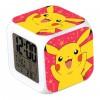 Jam Meja Alarm Pokemon Go - Pink