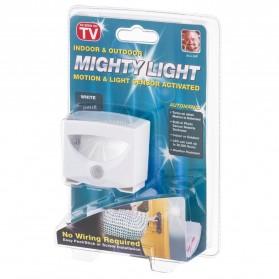 Mighty Light Lampu LED Sensor Gerak - White - 7