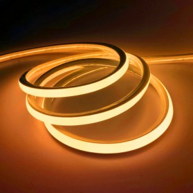 Lampu LED Strip 2835 220V 5 Meters EU Plug - Yellow
