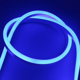 Lampu LED Strip 2835 220V 1 Meters EU Plug - Blue