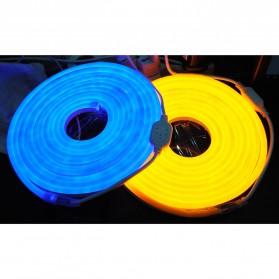 Lampu LED Strip 2835 220V 1 Meters EU Plug - Blue - 2