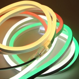 Lampu LED Strip 2835 220V 1 Meters EU Plug - Blue - 3