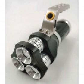 TaffLED Senter LED Flashlight Rechargeable 40W 6000 Lumens - TM28 - Black - 2