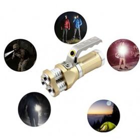 TaffLED Senter LED Flashlight Rechargeable 40W 6000 Lumens - TM28 - Black - 4