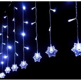 Lampu Hias Gantung Model Snowflakes - White