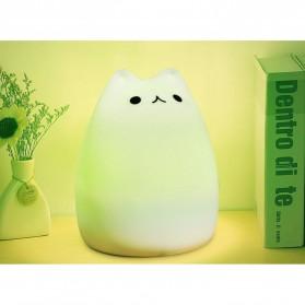 Lampu 7 Warna Model Kucing Lucu - LJC-101 - White - 4
