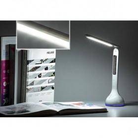 Lampu Meja RGB dengan Jam Temperatur 3750-4250K - Q2 - White - 3