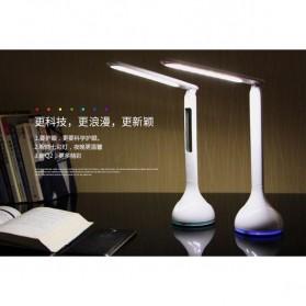 Lampu Meja RGB dengan Jam Temperatur 3750-4250K - Q2 - White - 5