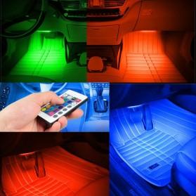 SAARMAT Lampu LED Car Interior Light 5050 RGB + Remote Control - APPFWD1 - 9