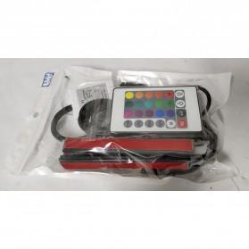 SAARMAT Lampu LED Car Interior Light 5050 RGB + Remote Control - APPFWD1 - 10