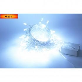 Lampu Hias String 100 LED 220V 10 Meters EU Plug - White