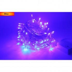 Lampu Hias String 100 LED 220V 10 Meters EU Plug - Blue